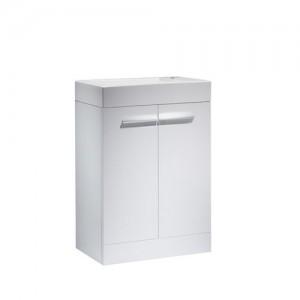 Tavistock K56FW Kobe 56cm Floorstanding Vanity Unit - White
