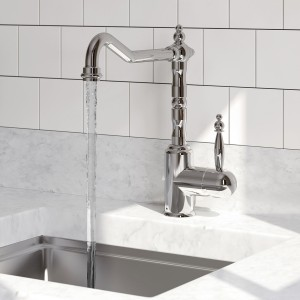 BRISTAN Colonial Single Lever Easyfit Sink Mixer Chrome Tap Only