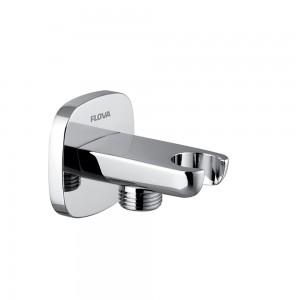 Flova - KI122A Oval Wall Outlet Elbow with Handset Bracket