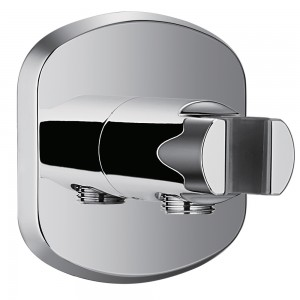 Flova KI123A Wall Outlet Elbow with Handset Holder