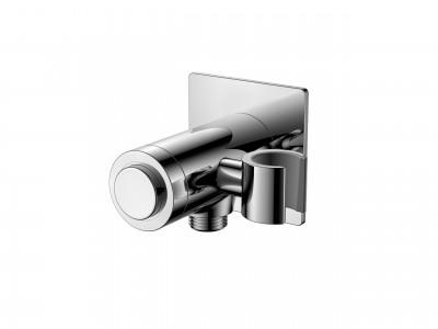 Flova KI125GO Handset Holder with Wall Outlet & GoClick On/Off Control