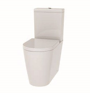 The White Space Lab Comfort Height Close Coupled Pan (closed back) - White [LABW7]