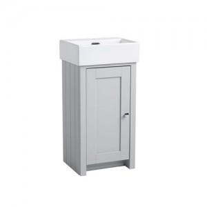 Tavistock LAN400CPG Lansdown Cloakroom Vanity Unit - Pebble Grey