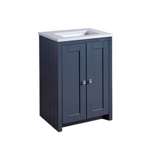Tavistock LAN600USDGM Lansdown 60cm Vanity Unit for Undermount Basin - Dark Grey
