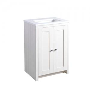 Tavistock LAN600USLW Lansdown 60cm Vanity Unit for Undermount Basin - White