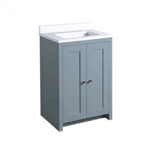 Tavistock LAN600USMB Lansdown 60cm Vanity Unit for Undermount Basin - Blue