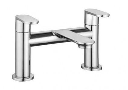 The White Space True Brassware Bath Filler - Chrome [LEV03]
