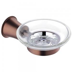 Flova LI8987-ORB Liberty-Bronze Glass Soap Dish