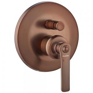 Flova LISHVODIV-ORB Liberty-Bronze Concealed 2-Outlet Manual Mixer