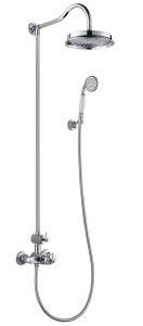 Flova LITSKIT Liberty-Chrome Exposed Thermostatic Shower Column