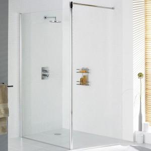 Lakes Classic - Semi Frameless Shower Screen 1000 x 1850 + 85mm  LKSS1000S