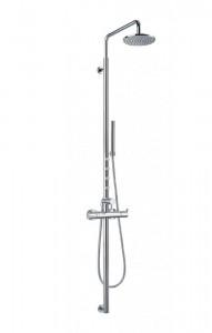 Flova LVSP Levo-CH Exposed Thermostatic Shower Column