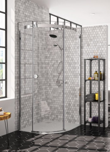 MERLYN M1032CB Series 10 - 1 Door Quadrant without Shower Tray