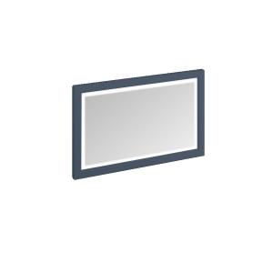 Burlington Illuminated Framed Mirror 120 x 75cm with LED illumination and infra-red switch. IP44 Blue  [M12MB]