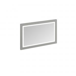 Burlington Illuminated Framed Mirror 120 x 75cm with LED illumination and infra-red switch. IP44 Olive  [M12MO]