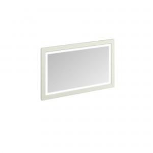 Burlington Illuminated Framed Mirror 120 x 75cm with LED illumination and infra-red switch. IP44 Sand  [M12MS]
