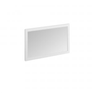 Burlington Framed Mirror 120 x 75cm: Matt White  [M12OW]