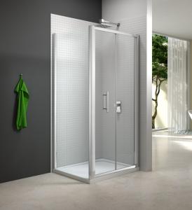 MERLYN M6721PH Series 6 - Framed Bifold Door & Inline Panel