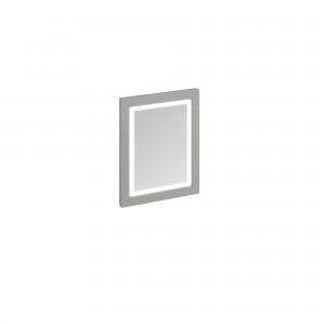 Burlington Illuminated Framed Mirror 60 x 75cm with LED illumination and infra-red switch. IP44: Olive  [M6MO]