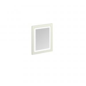 Burlington Illuminated Framed Mirror 60 x 75cm with LED illumination and infra-red switch. IP44: Sand  [M6MS]