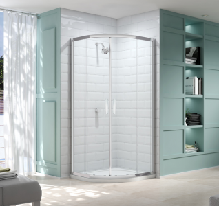 MERLYN M832FR2D Series 8 - Framed 2 Door Quadrant without Shower Tray