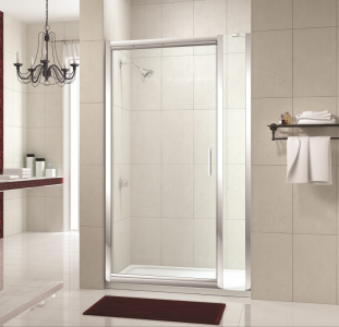 MERLYN M844 Series 8 - Framed Infold Door without Shower Tray
