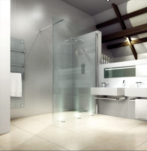 MERLYN M8SW21 Series 8 Wetroom - Showerwall without Shower Tray