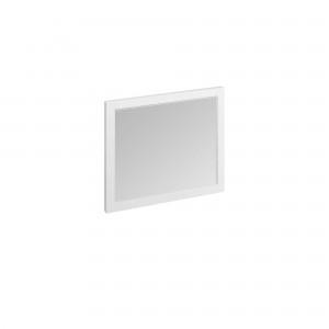 Burlington Framed Mirror 90 x 75cm: Matt White  [M9OW]