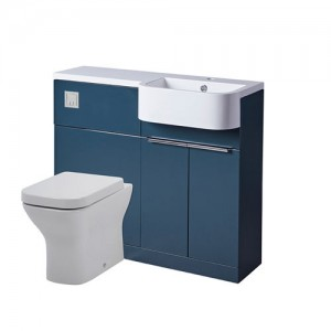 Tavistock MATROB Match 100cm Right Furniture Run - Blue