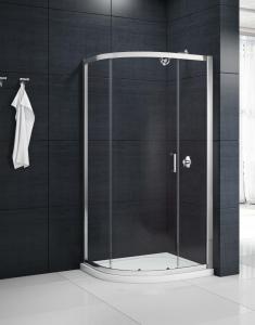 MERLYN MB1Q1SE MBox - 1 Door Offset Quadrant Shower Enclosure