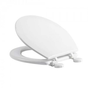 Tavistock Meridian - WC Seat with white hinges - Gloss White [MSM1W]