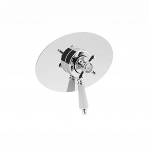 BRISTAN 1901 Concealed Concentric Chrome Shower Valve Only