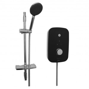 BRISTAN Noctis 8.5kw Electric Shower Black and Chrome