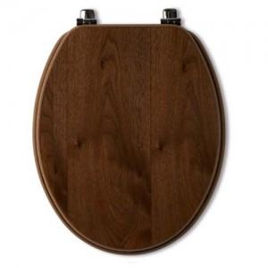 Tavistock Millenium WC Seat - Walnut [O142M]