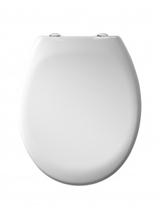 Tavistock - Soft Close Seat with Quick release hinges - Alpine White [O803SCSF]