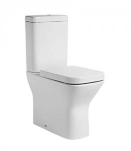 Tavistock Structure Comfort Height Pan (fully back to wall) - White [PC450S]
