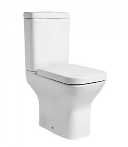 Tavistock Structure Comfort Height Pan (open back) - White [PC455S]