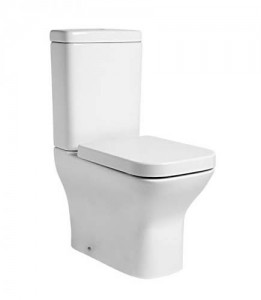Tavistock Structure Pan (fully back to wall) - White [PF450S]