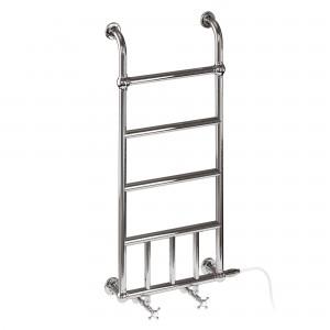 Burlington R12CHR Chaplin Ladder Radiator 1100x500mm Chrome