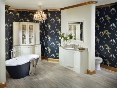 Utopia Regent Freestanding Bath Shower Mixer with Standpipes