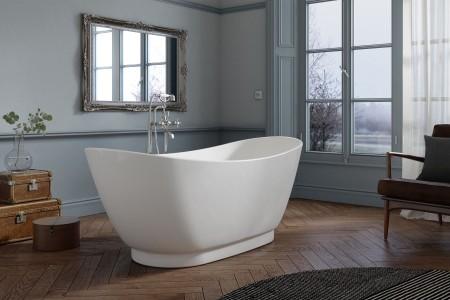 Royce Morgan RM23 Quartz Freestanding Bath 1760 x 680mm