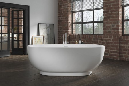 Royce Morgan RM25 Opal Freestanding Bath 1790 x 810mm