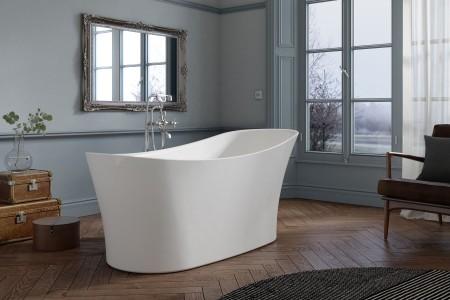 Royce Morgan RM29 Ebony Freestanding Bath 1710 x 730mm