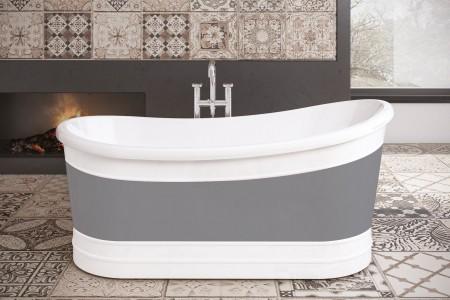 Royce Morgan RM58 Harwood Freestanding Bath 1650 x 730mm