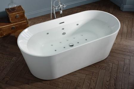 Royce Morgan RM65 Coral Whirlpool Freestanding Bath 1700 x 800mm