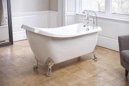 Royce Morgan RMF07 Chatsworth Freestanding Bath 1530 x 710mm White