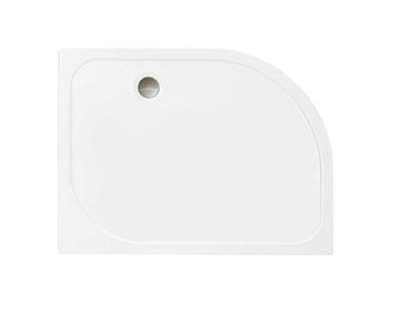 MERLYN S1QTOQST Touchstone - Offset Quadrant Shower Tray