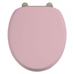Bespoke Confetti Pink Seat with Gold Hinges [S54GOLD]