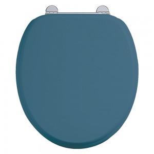 Bespoke Alaska Blue Seat with Chrome Hinges [S56CHR]