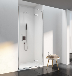 MERLYN S6FB1500RECH Series 6 - Framless Hinge & Inline Panel with Shower Tray